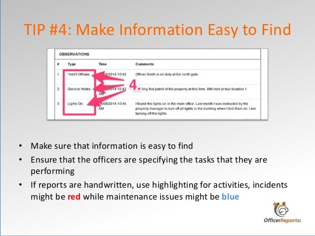 10 tips on how to write a daily activity report that matters