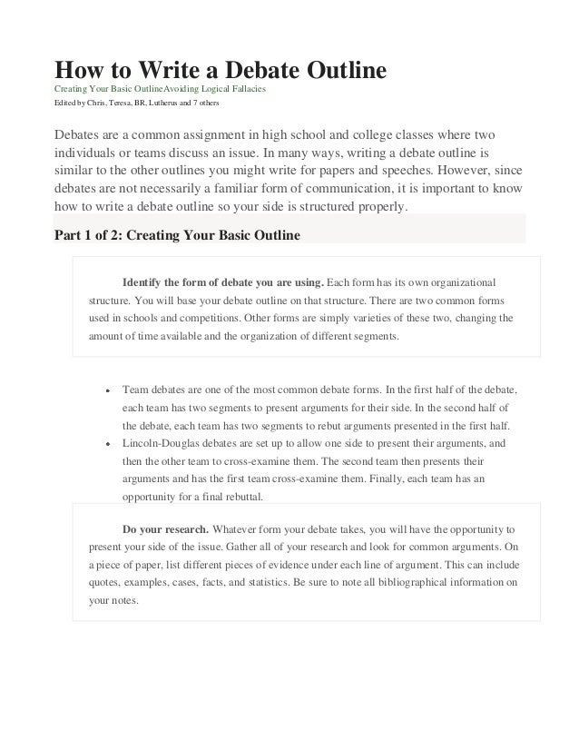 college research essay outline template