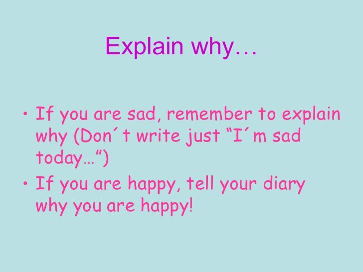 diary writing ks4