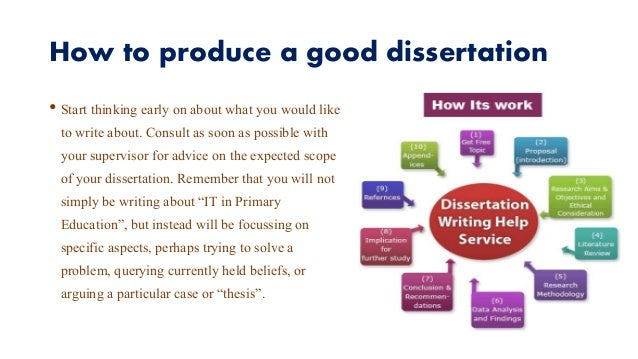 how to write and produce a dissertation Whether you are writing an undergraduate or masters dissertation  thing is that  it teaches you how quickly you can produce written work.