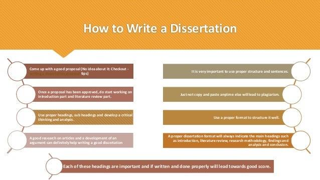 The best dissertation