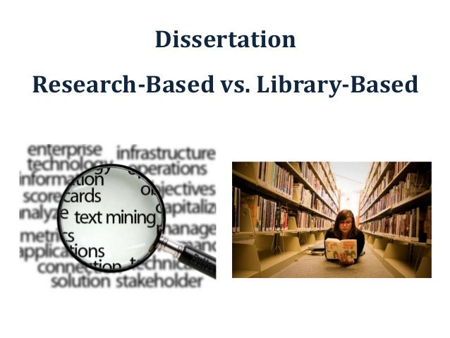 library based dissertation structure