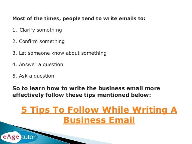 how to write good emails reddit