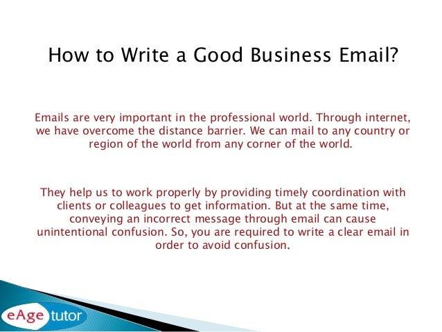 How to write a good business email 2 thecheapjerseys Images