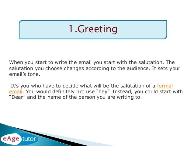 How To Write A Letter With Good Grammar