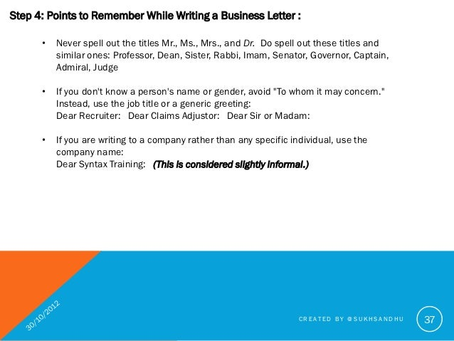 writing neutral business letter Writing skills how to write a letter gender neutral language writing specific documents you should type and print business letters.