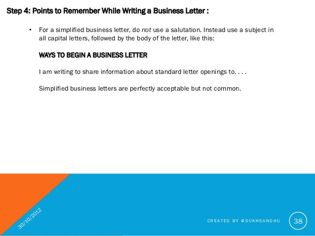 How to write a good business letter created by sukhsandhu 38 38 spiritdancerdesigns Gallery