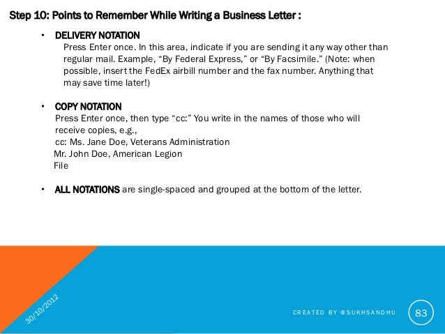 How To Write A Good Business Letter