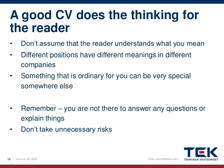 Cv Means Cover Letter