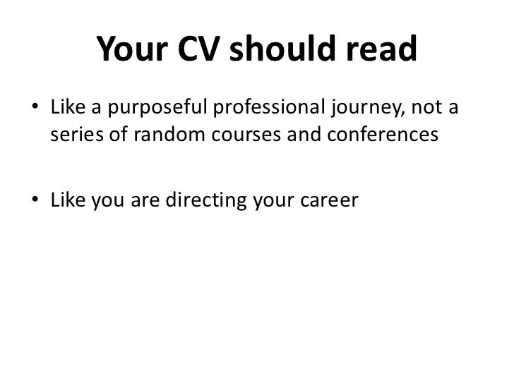 39 your cv