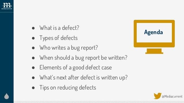 How to write a good bug