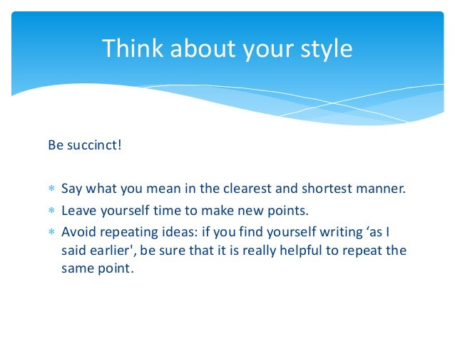 how to write resume in english exam