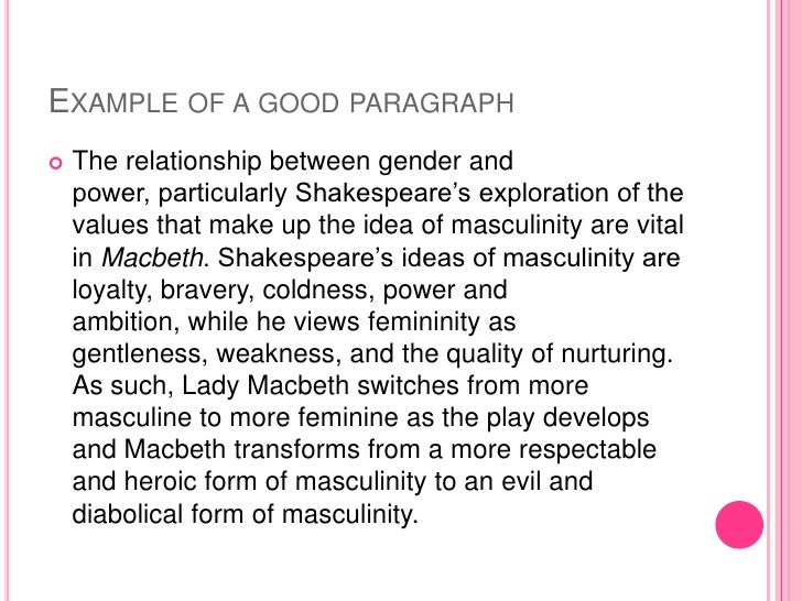 an exploration of femininity i essay Femininity masculinity – university of california, riverside an exploration of femininity i n shakespeare's tragedies in a patriarchal structured society.