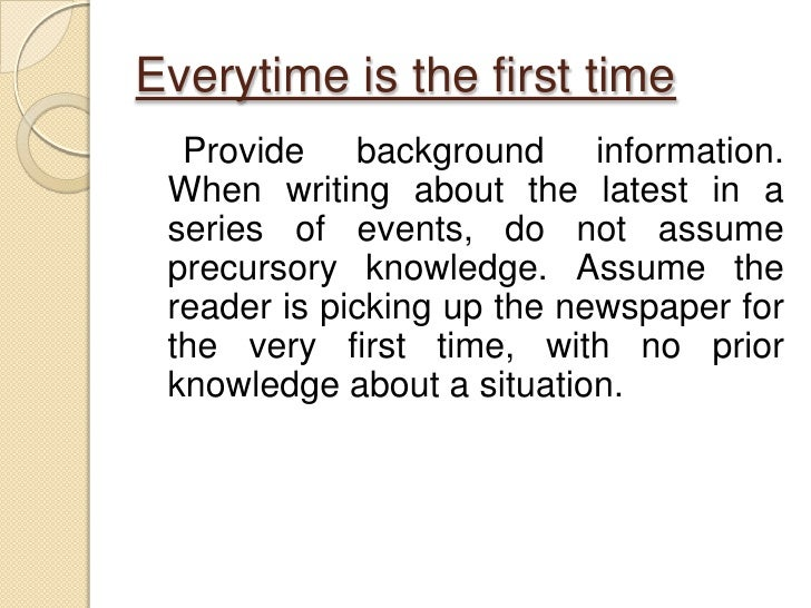 how to write a good newspaper article 11