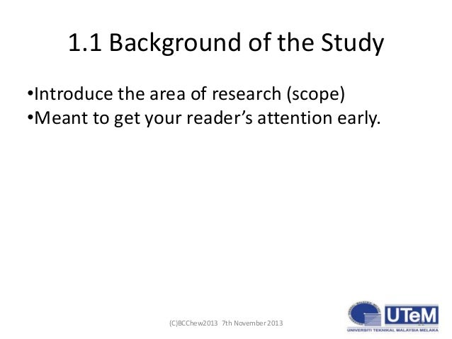 Writing a Good PhD Research Proposal
