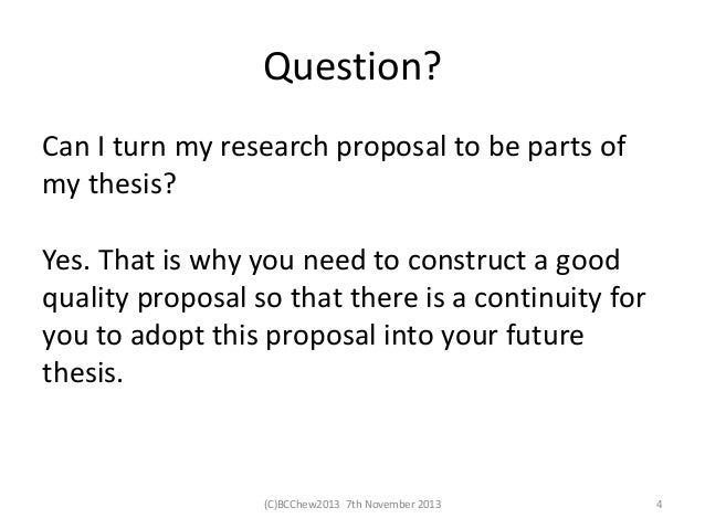 principle of good research proposal But also on the quality of your proposal writing a good research project may run the risk of rejection simply the guiding principle for writing the method section is that.