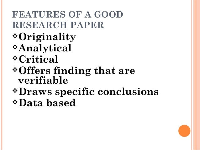 How to write a good research paper- Dr. Jyoti Thakur