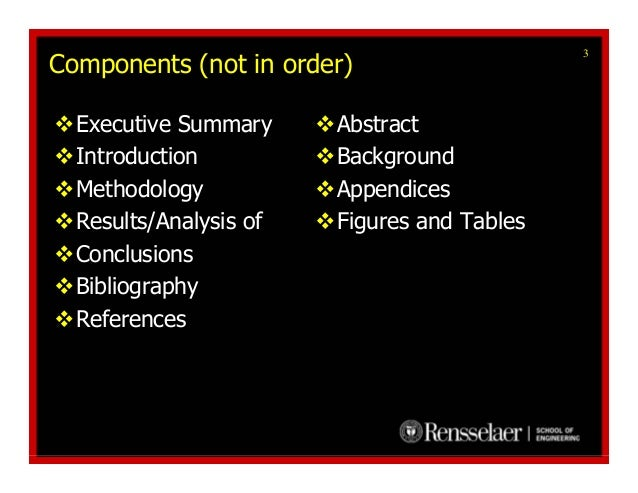 Sample Executive Summary Template      Documents in PDF  Word  Excel Technical Writing Templates  Tools  Tutorials