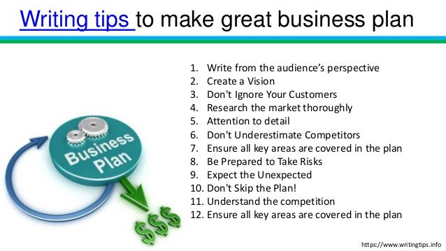 How You Make A Business Plan How To Make A Business