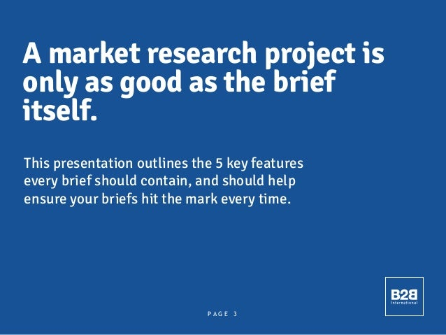 How To Write A Great Research Brief Slide 3