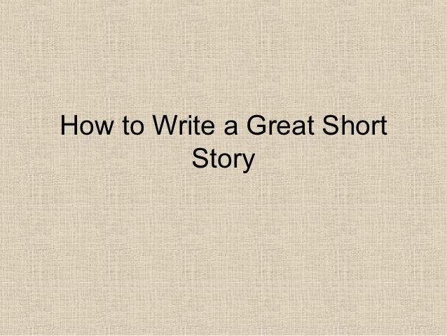 tips on how to write a short novel