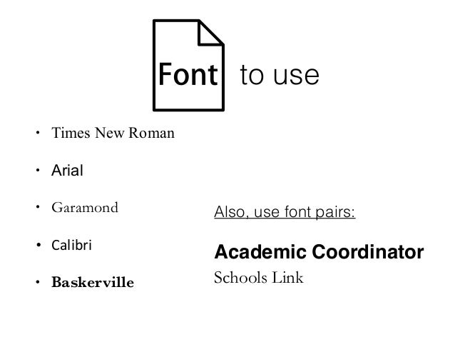 Calibri Font For Resume. writing a resume which fonts are best. the ...