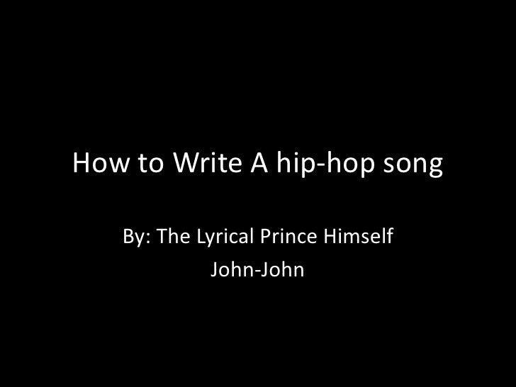 """how to write a hip hop song At this point, hip-hop has officially become the most dominate genre in popular  music we run down the best rap songs of 2018  since this is 2018, it's also  produced by kanye west, with a sample of monica's """"knock knock."""