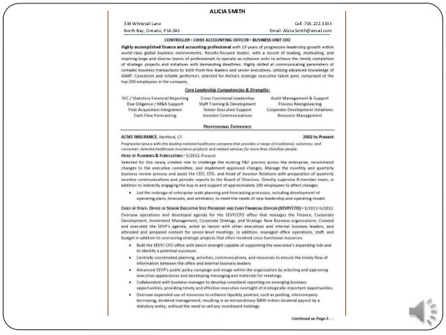 SlideShare  How To Write A Killer Resume