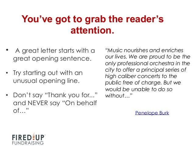 how to write a good thank you letter