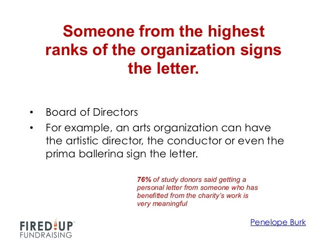 how to write a letter to an organization