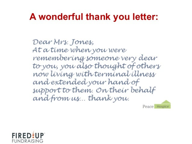 Thank You Letter | How To Write A Killer Thank You Letter