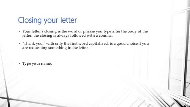 14 your letters