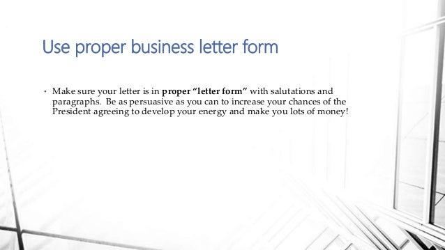Proper Letter Format To The President Gumus Northeastfitness Co