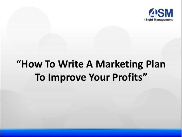 How to Write a Strong Marketing Proposal