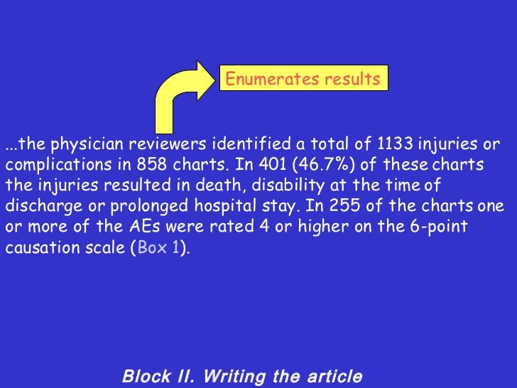 Medical article writers