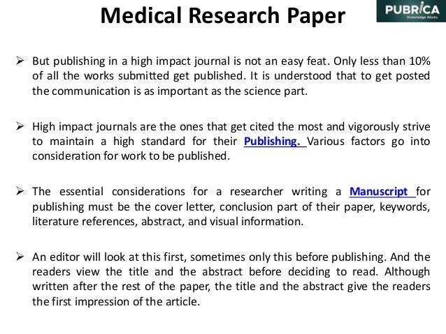 Citation style for science research papers