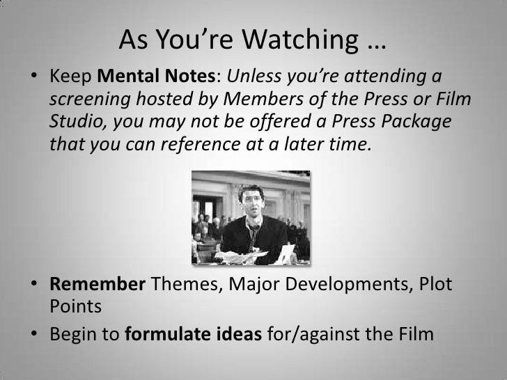 How to Write a Movie Review of Exceptional Quality