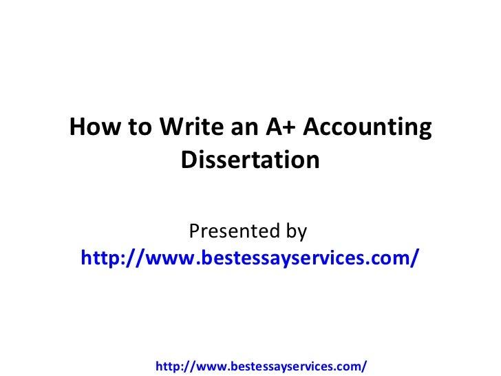 Ana thesis writing