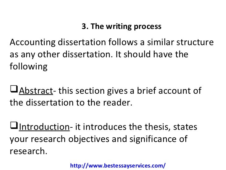 A List Of 18 Winning Accounting Dissertation Ideas