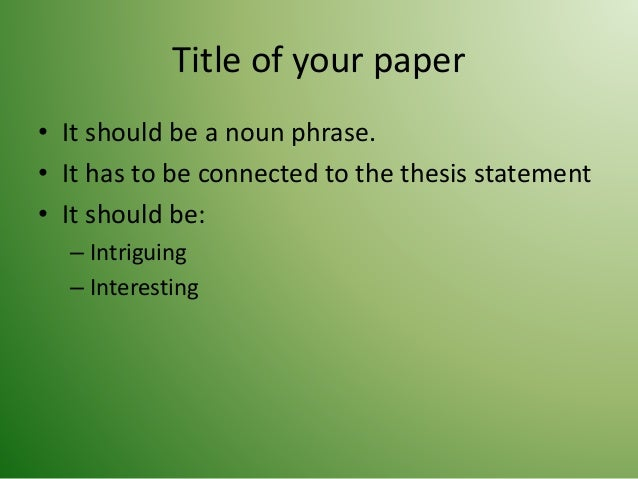 how to write an introduction for an academic paper