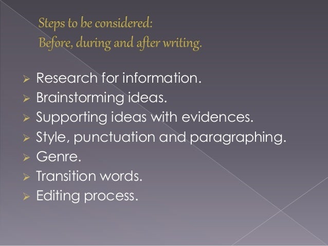 how to write that is in academic writing