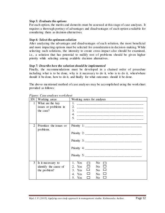 How to Analyze a Case Study - wps.prenhall.com
