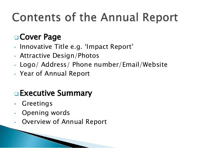 how to write an annual report An annual report communicates info about your company's financial health, but it can be much more than that.