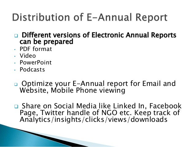 Writing Your Annual Report in 5 Easy Steps