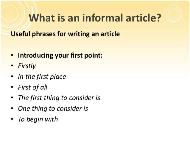 writing an article An article review is a critical part of writing in which you should classify, analyze  and compare articles and make an evaluation.