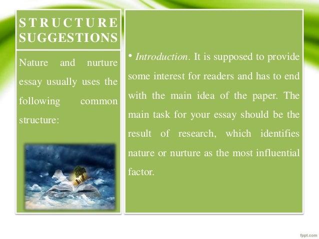 Nature Vs Nurture Activity