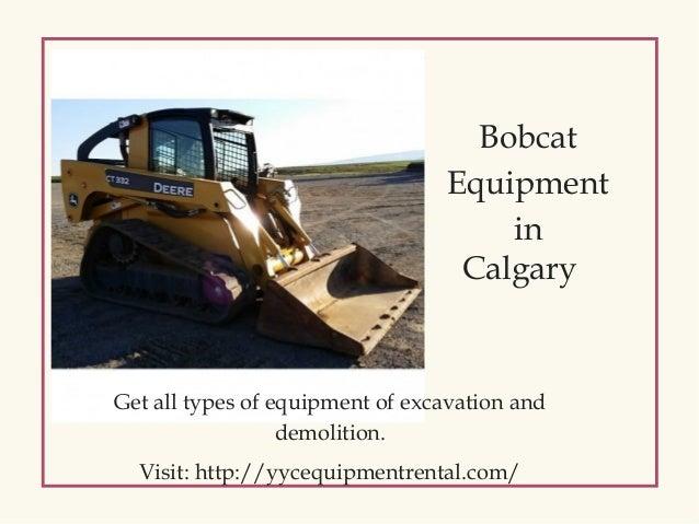 Bobcat Equipment Calgary | Get Tree Spade Attachments for Rent