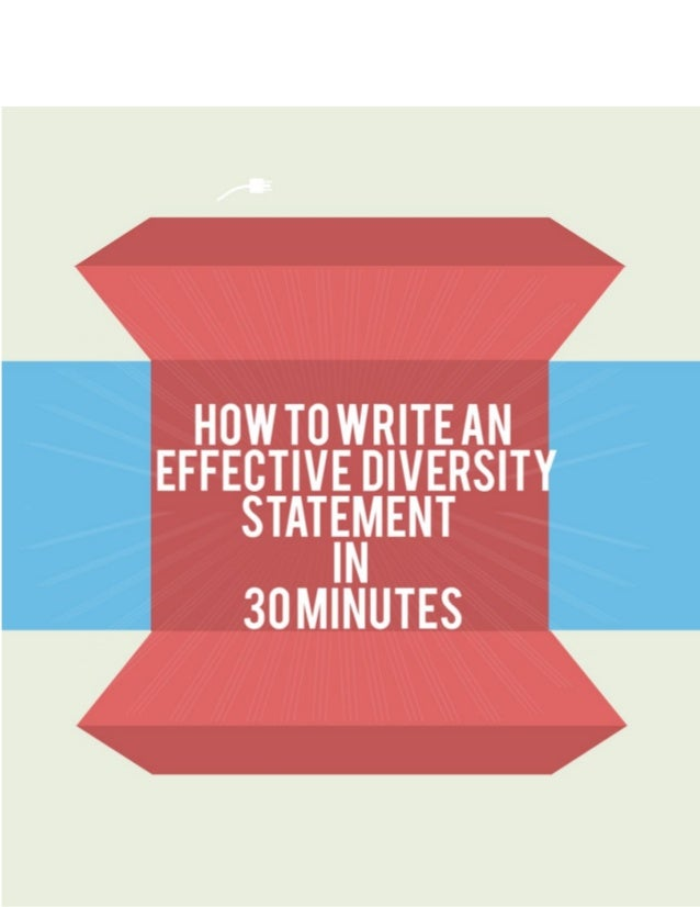Your Ultimate Guide To Diversity Statements And Ways To Write It In L