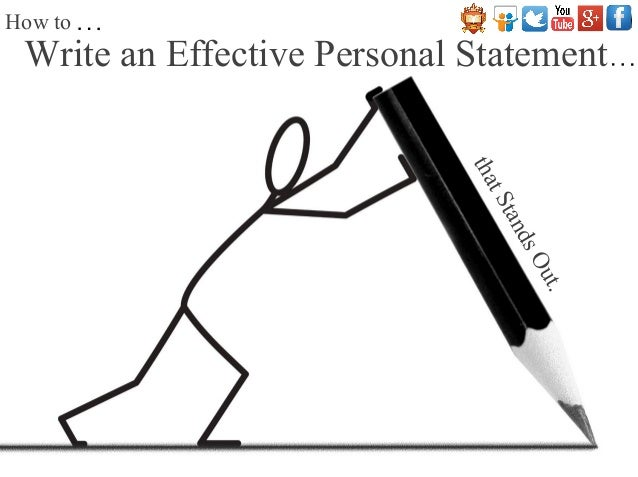 How To Write An Effective Personal Statement That Stands Out