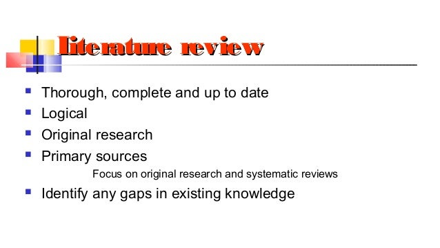 How to write an original research proposal